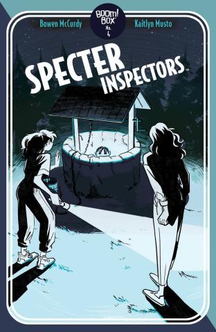 Specter Inspectors #4 (Henderson Cover)