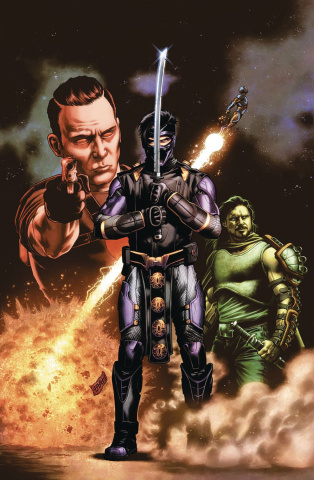 Ninjak vs. The Valiant Universe #3 (CAFU Cover)