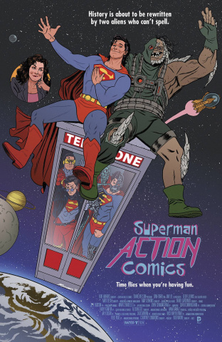 Action Comics #40 (Movie Poster Cover)