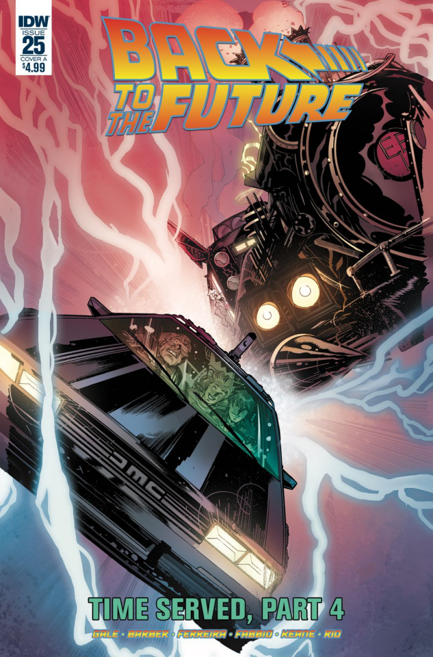 Back to the Future #25 (Ferreira Cover)