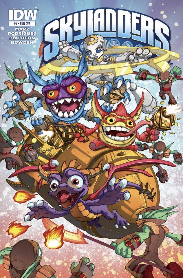 Skylanders #1 (Subscription Cover)