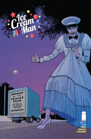 Ice Cream Man #7 (CBLDF Charity Uncensored Cover)
