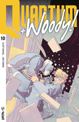 Quantum & Woody #10 (Smart Cover)