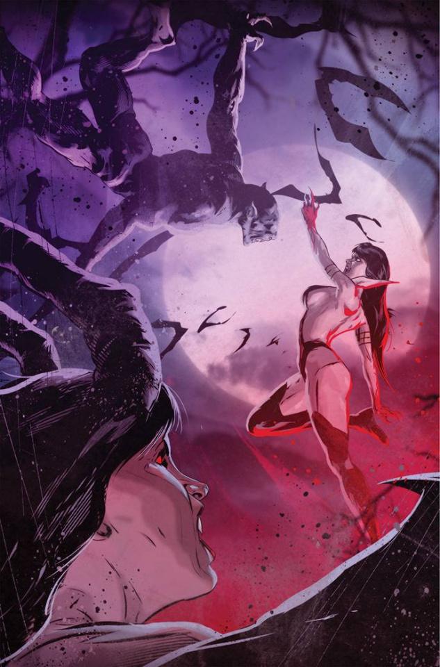 Vampirella vs. Purgatori #5 (7 Copy Kudranski Virgin Cover)