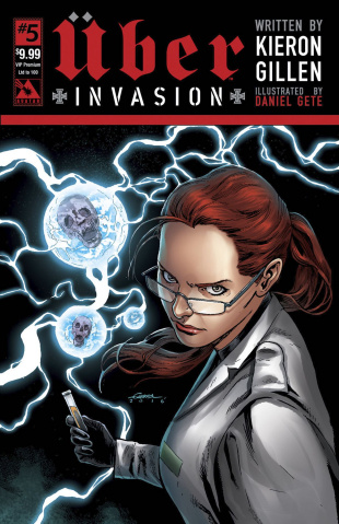 Über: Invasion #5 (VIP Premium Cover)
