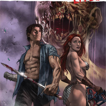 DIE!namite Lives! #4 (Parrillo Cover)