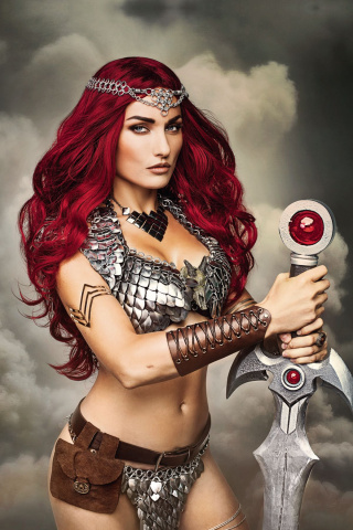 Red Sonja #3 (10 Copy Cosplay Virgin Cover)