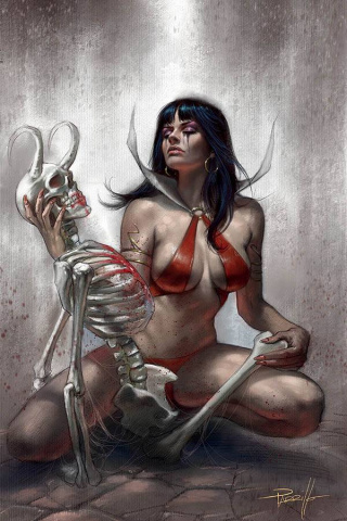 Vampirella #13 (Parrillo Virgin Cover)