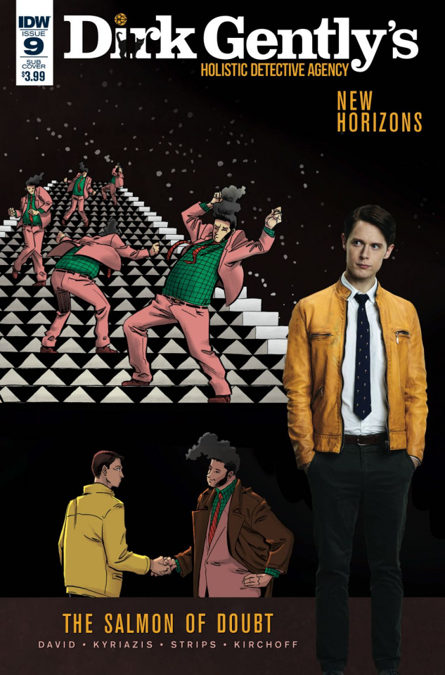 Dirk Gently's Holistic Detective Agency: The Salmon of Doubt #9 (Subscription Cover)