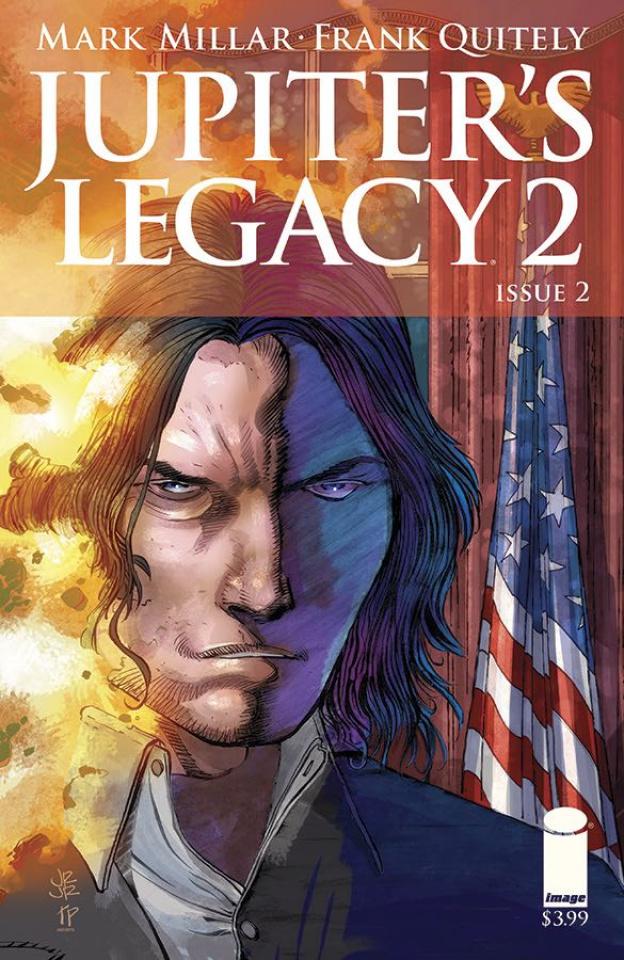 Jupiter's Legacy 2 #2 (Romita Jr. Cover)