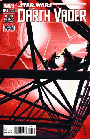 Darth Vader #23 (2nd Printing Larroca Cover)