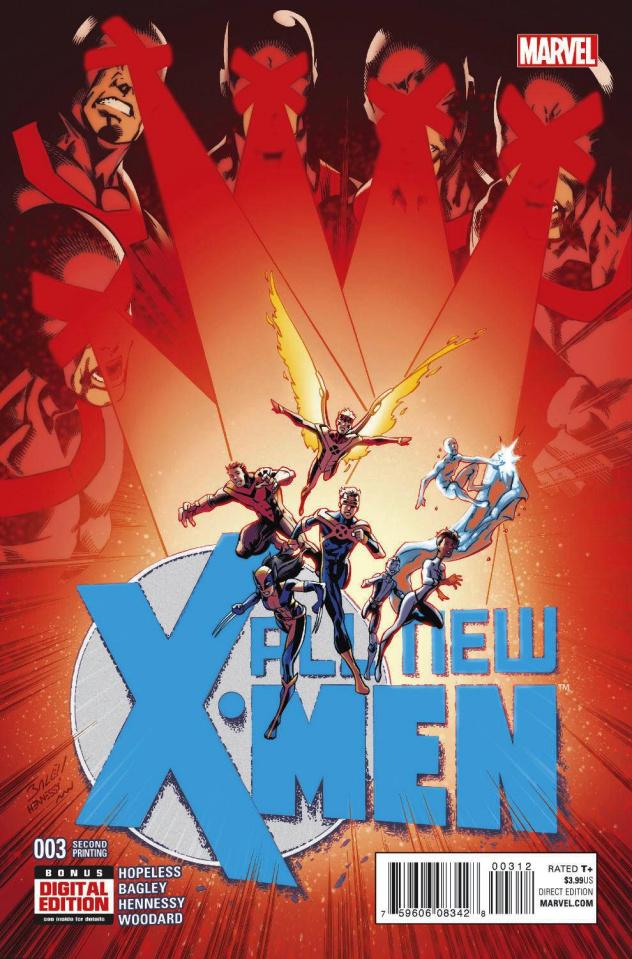 All-New X-Men #3 (Bagley 2nd Printing)