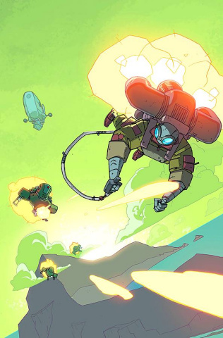 Atomic Robo: The Flying She-Devils of the Pacific #5