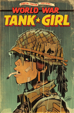 Tank Girl: World War Tank Girl #1 (Parson Cover)