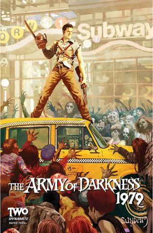 The Army of Darkness: 1979 #2 (Suydam Cover)