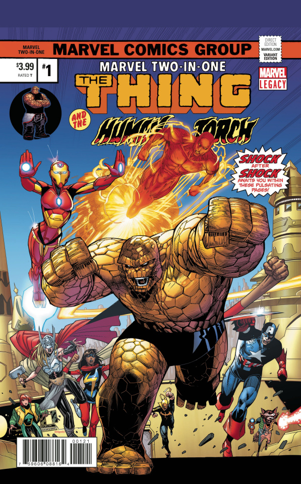 Marvel Two-In-One #1 (Malin Cover)