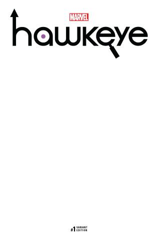 Hawkeye #1 (Blank Cover)