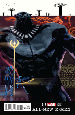 All-New X-Men #12 (Santiago Black Panther Cover)