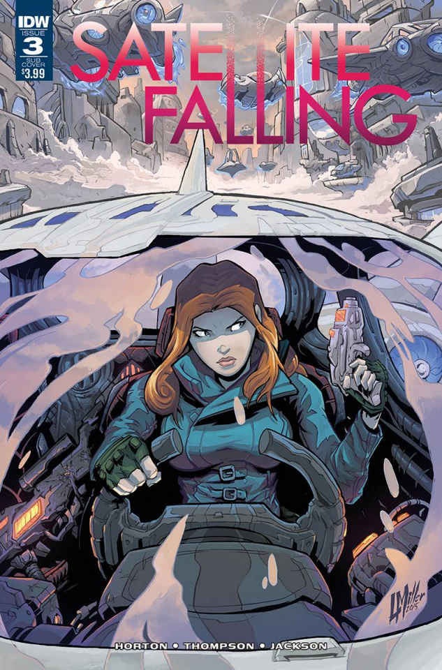 Satellite Falling #3 (Subscription Cover)