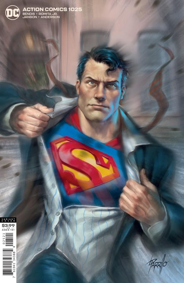 Action Comics #1025 (Lucio Parrillo Cover)