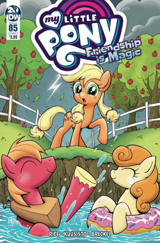 My Little Pony: Friendship Is Magic #85 (Coller Cover)