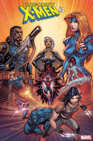 Uncanny X-Men #1 (Williams Cover)