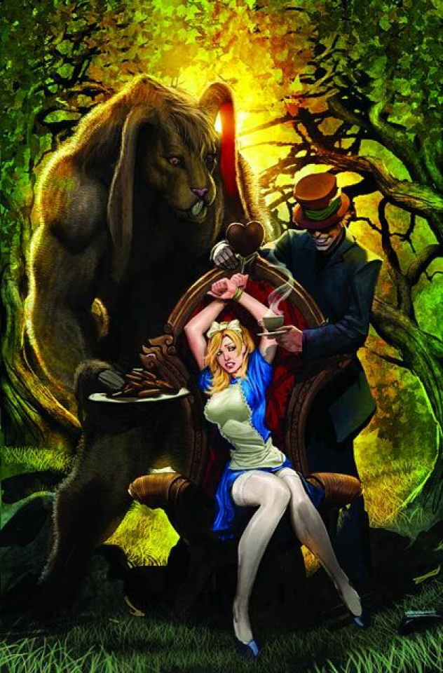 Grimm Fairy Tales: Alice in Wonderland #3 (Sejic Cover)