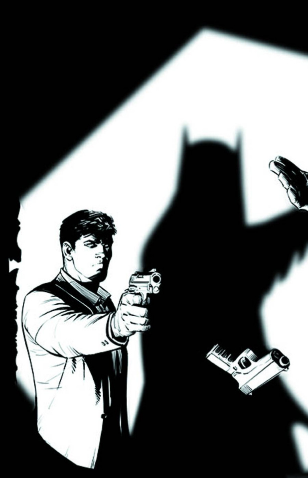 Batman #19 (Black & White Cover)