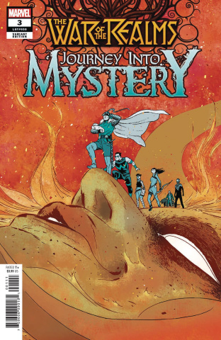 The War of the Realms: Journey Into Mystery #3 (Martin Cover)
