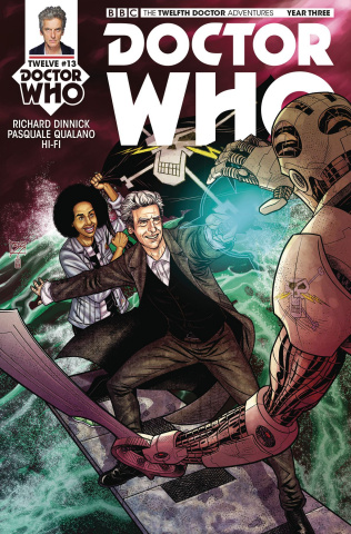 Doctor Who: New Adventures with the Twelfth Doctor, Year Three #13 (Shedd Cover)