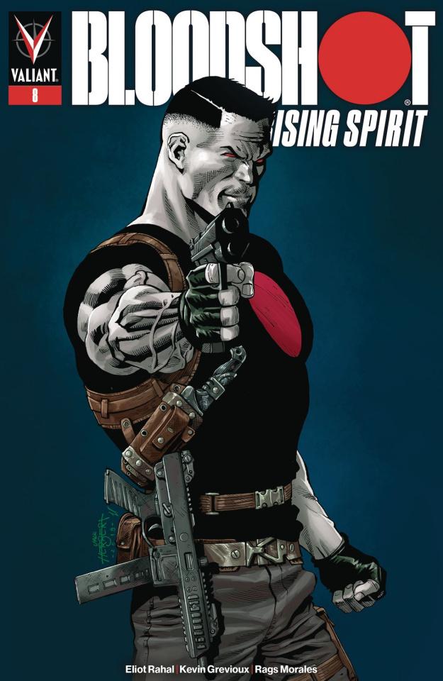 Bloodshot: Rising Spirit #8 (Herbert Cover)