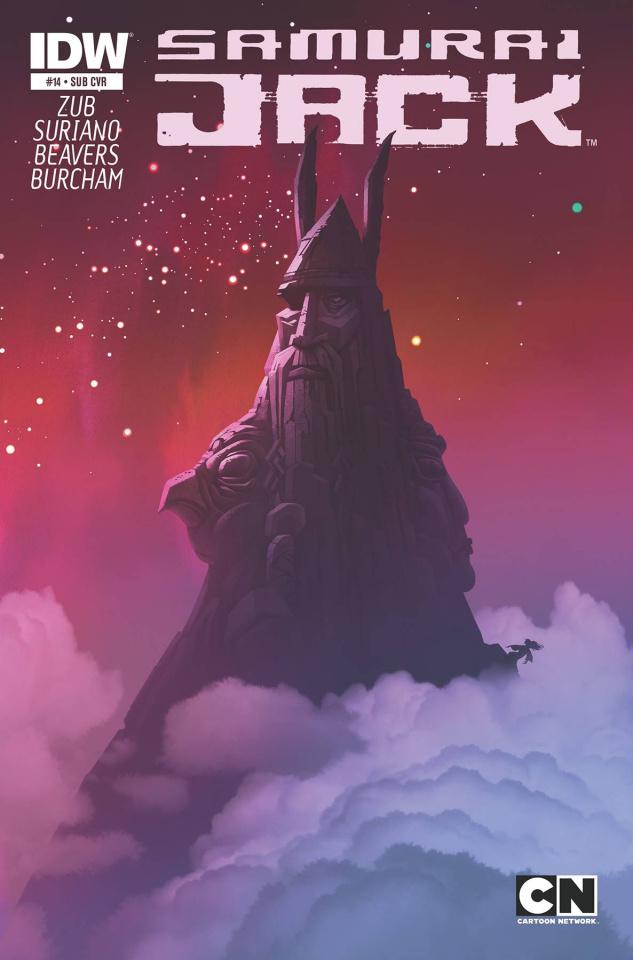 Samurai Jack #14 (Subscription Cover)