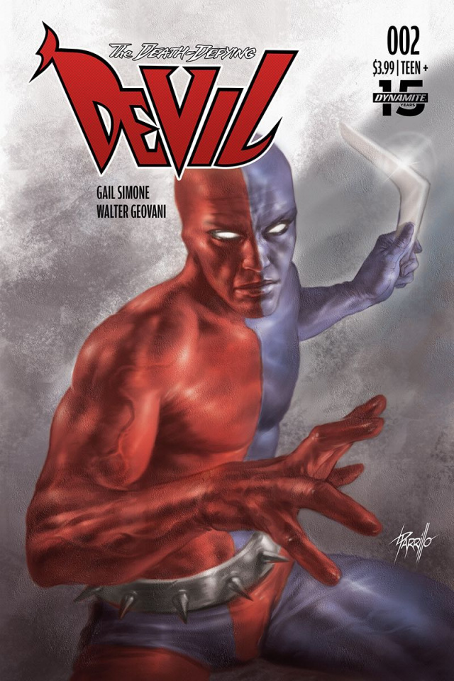 The Death-Defying Devil #2 (Parrillo Cover)