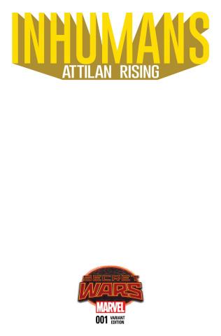 Inhumans: Attilan Rising #1 (Blank Cover)