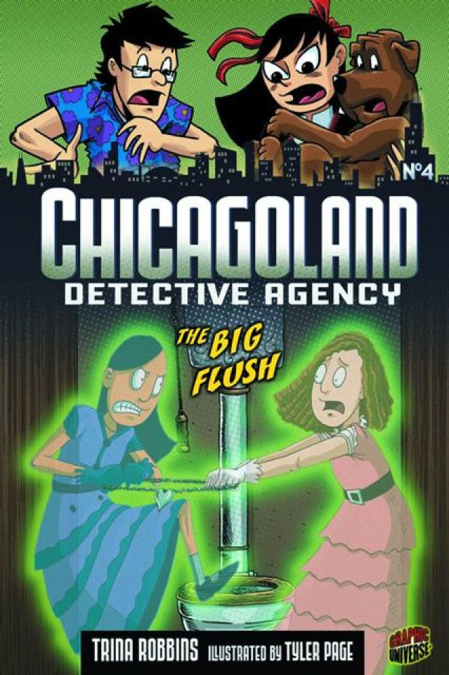Chicagoland Detective Agency Vol. 4: The Big Flush