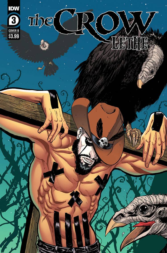 The Crow: Lethe #3 (Seeley Cover)