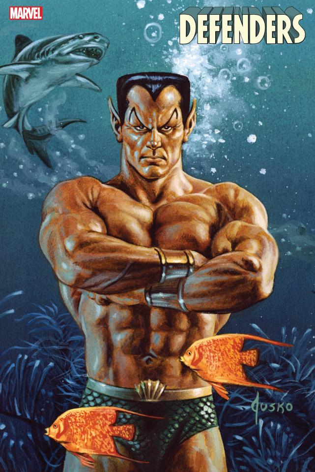 Defenders #3 (Jusko Marvel Masterpieces Cover)