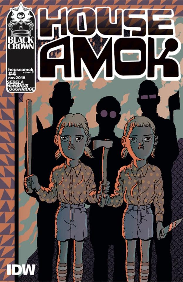 House Amok #4 (Mann Cover)