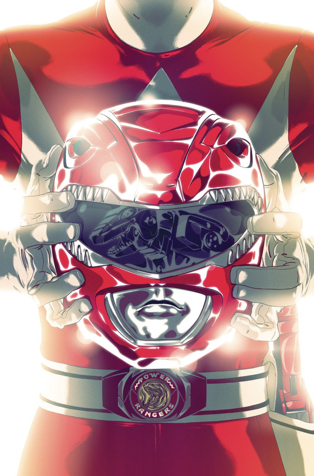 Mighty Morphin' Power Rangers #41 (Foil Montes Cover)