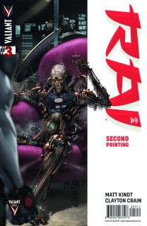 Rai #3 (2nd Printing)