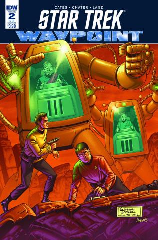 Star Trek: Waypoint #2 (Subscription Cover)