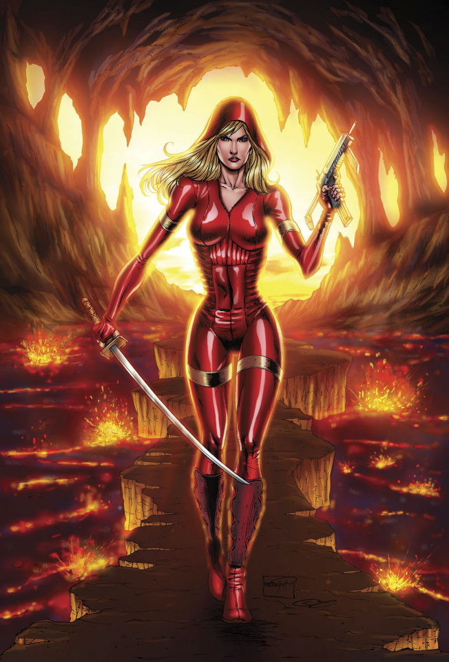 Grimm Fairy Tales: Red Agent - The Human Order #7 (Goh Cover)