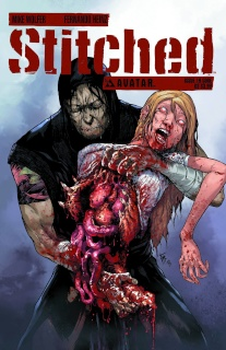 Stitched #19 (Gore Cover)