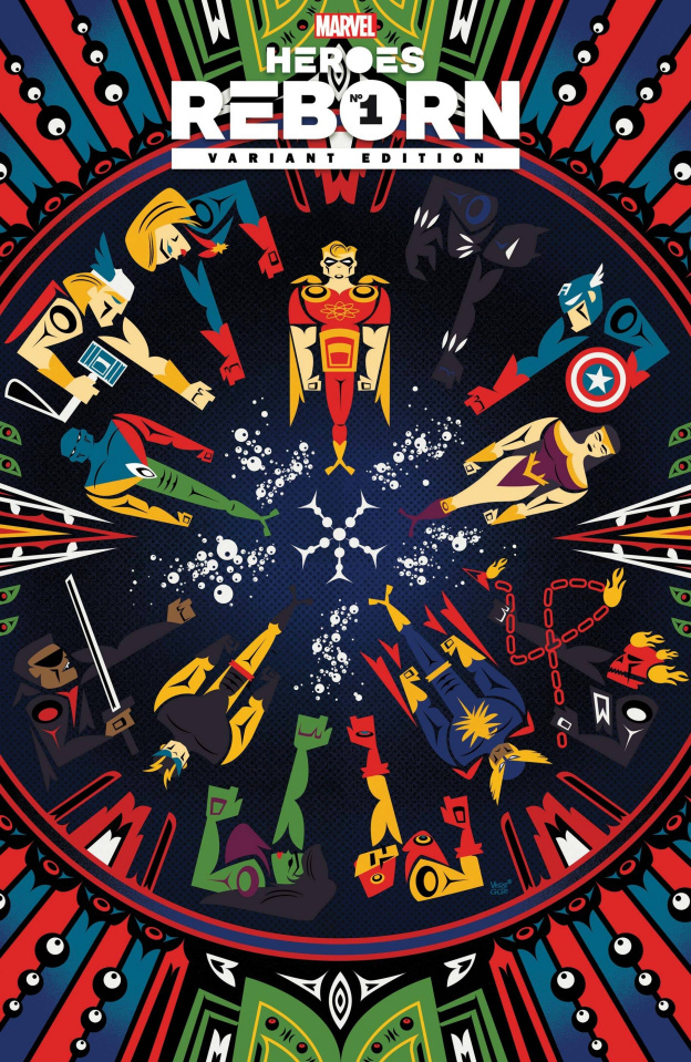 Heroes Reborn #1 (Veregge Cover)