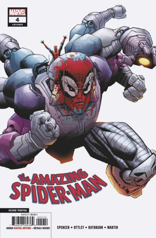 The Amazing Spider-Man #4 (Ottley 2nd Printing)