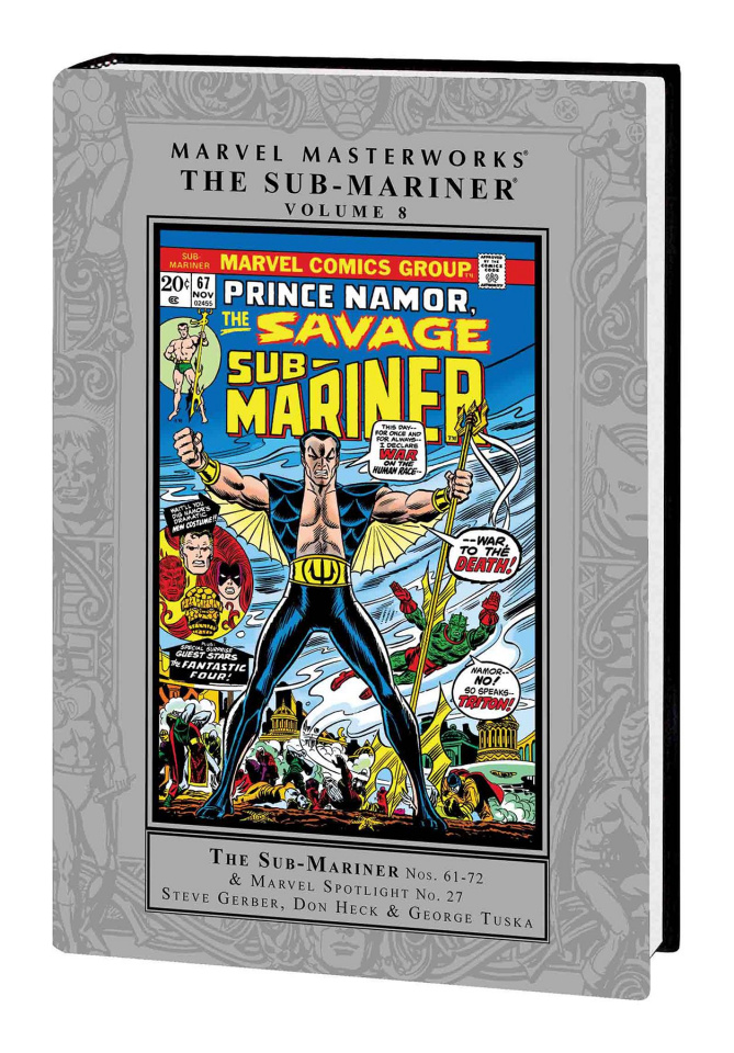 The Sub-Mariner Vol. 8 (Marvel Masterworks)