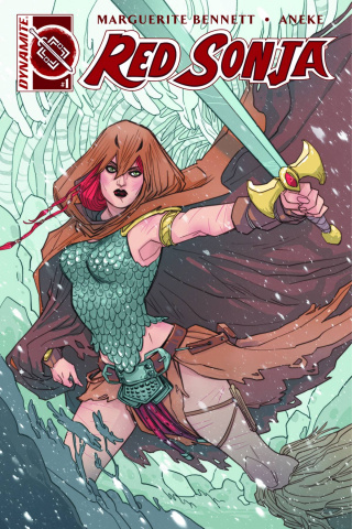 Red Sonja #1 (Sauvage Cover)