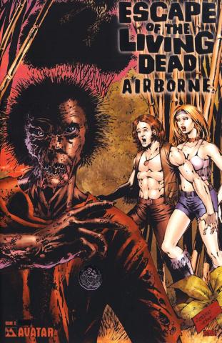 Escape of the Living Dead: Airborne #3 (Platinum Foil Cover)