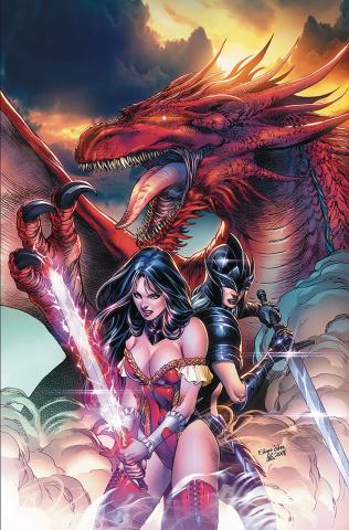 Grimm Fairy Tales 2019 Annual #1 (Silva Cover)