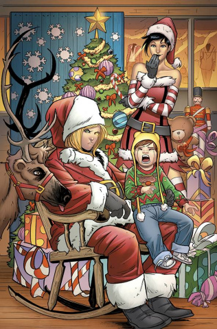 Grimm Fairy Tales: Robyn Hood Holiday Special (Ingranata Cover)